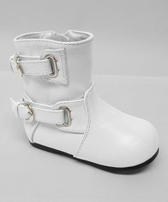 Take a look at this White Ice Boot by Aadi on #zulily today!