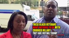 VIDEO : These Black Veterans Want NOTHING TO DO with Hillary, Are Voting TRUMP http://truthfeed.com/video-these-black-veterans-want-nothing-to-do-with-hillary-are-voting-trump/15144/?utm_campaign=crowdfire&utm_content=crowdfire&utm_medium=social&utm_source=pinterest