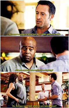 hawaii five 0 mcdanno alex o'loughlin scott caan chi mcbride grace park h50: 6x08 oh lord dad joke williams strikes again