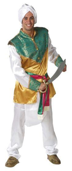 DisfracesMimo, disfraz de hindu lujo hombre adulto talla m/l.Inspirado en la vestimenta tradicional de la cultura hindú, este disfraz de hindu adulto, te permitirá recrear a un apuesto príncipe oriental o a un soldado del antiguo ejército persa.Este disfraz es ideal para tus fiestas temáticas de disfraces del mundo, paises y regionales para hombre adultos.