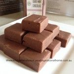 Five Minute Chocolate Fudge - Your Inspiration at Home - Recipes Chocolate Powder, Chocolate Fudge, Mint Chocolate, Home Recipes, Gourmet Recipes, Cooking Recipes, Baking Items, Latest Recipe, Party Desserts