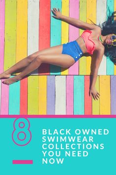 8 Black Swimwear Black Owned Swimwear Collections You Need NOW