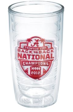 Tervis Tumbler Alabama BCS 2012 National Champions design available at Blue Bumble Bee!