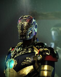 Steampunk Iron man by Andy Jones.More about Iron man here. Marvel Comics, Hq Marvel, Mode Steampunk, Steampunk Cosplay, Steampunk Fashion, Steampunk Armor, Steampunk Design, Steampunk Images, Steampunk Necklace