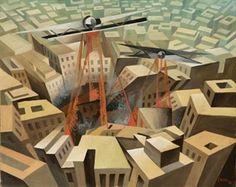 Bombardamento urbano By Tullio Crali ,1935