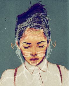 Portraits I by SARAH GONZALES, via Behance