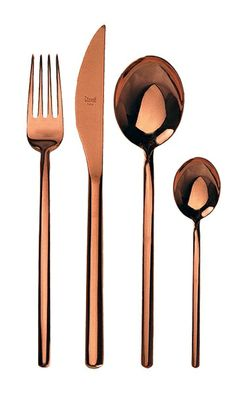 My silverware seems boring after seeing these copper utensils.