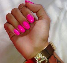 Nails, bright pink nails и nail shapes squoval. Bright Pink Nails, Summer Acrylic Nails, Neon Nails, My Nails, Pink Shellac Nails, Bright Summer Nails, Squoval Acrylic Nails, Bright Acrylic Nails, Bright Colors