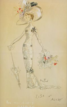 From My Fair Lady, 1964, by Cecil Beaton.