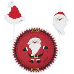 Santa Christmas Cupcake Combo Pack