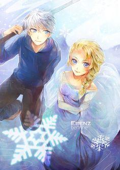 Jack Frost - Elsa by berinne on DeviantArt