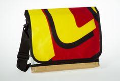 Messenger Bagy: yellow L