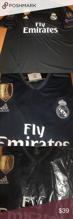 Fc Real Madrid away soccer jersey Large size Runs regular fit brand new  last one in Large size adidas Shirts Tees - Short Sleeve df3c0d3faee92