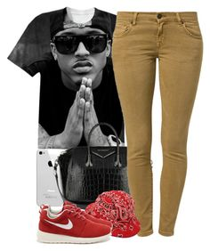 """""""unknown"""" by nasiaswaggedout ❤ liked on Polyvore featuring Givenchy, LTB by Little Big and NIKE"""