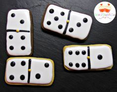 Domino Cookies by Wish I Had A Cake