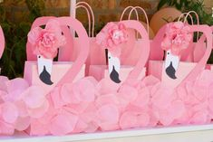 PrettyTwinkleParty's Birthday / Flamingo - Photo Gallery at Catch My Party Pink Flamingo Party, Flamingo Baby Shower, Flamingo Decor, Flamingo Birthday, Luau Birthday, Birthday Parties, Teepee Party, Tropical Party, Party Centerpieces