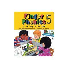 Finger Phonics 5 Jolly Phonics