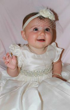 Reserved for PS  SILK Christening Gown by Caremour on Etsy, $110.00