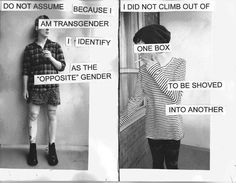 Insightful story of transitioning as a non-binary person, by Lane Silas.