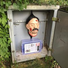 Don't lose your head while Geocaching! (geocachingblogger pic) #IBGCp