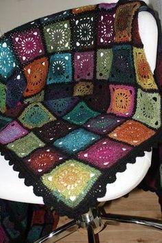 Bohemian Oasis - blanket - CROCHET