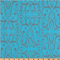 Karavan Stretch Cotton Jersey Knit Savannah Turquoise
