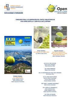 Exposición Concurso de carteles Open de tenis (29 de mayo de 2017)