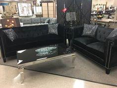 Velvet living room set Dream Furniture, New Furniture, Online Furniture Stores, Sofa, Couch, Living Room Sets, Velvet, Home Decor, Homemade Home Decor