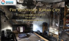 Get 24/7 emergency #firedamage restoration #kansas city services in #usa. Contact us: