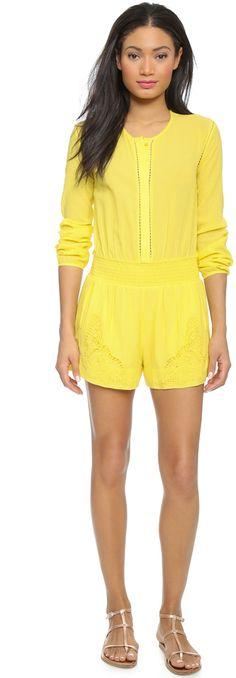 $157, Yellow Playsuit: Paul