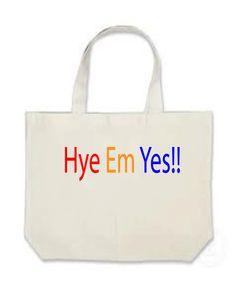 Hye Em Yes I am Armenian Canvas Bag White Or by LittleDylansArt, $10.00