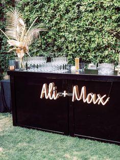 customize wedding reception neon sign
