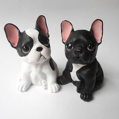 Item Specifications Size: (L*W*H) Material: Resin In the box: 1 x Adorable French Bulldog Puppy Decor Piece Polymer Clay Figures, Polymer Clay Animals, Cute Polymer Clay, Cute Clay, Polymer Clay Projects, Polymer Clay Creations, Resin Crafts, Small French Bulldog, French Bulldogs