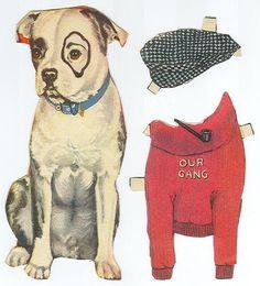 little rascal, dog paper doll – maria cristina rosales – Picasa Nettalbum