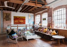 Former 1900s Shoe Factory Converted Into Single Residence