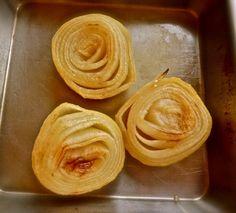 Baked Sweet Onions With Tahini-Miso Sauce