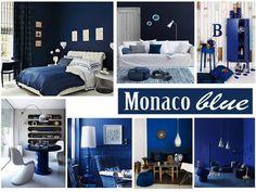 #Tendance déco : #couleur #Pantone 2013, le #Monaco Blue | MyHomeDesign