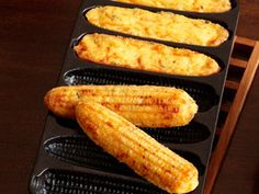 Cornbread Sticks Recipe : Patrick and Gina Neely : Food Network - FoodNetwork.com