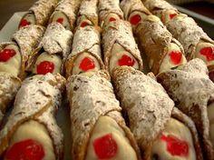 Cannoli Siciliani, incredibly good!!