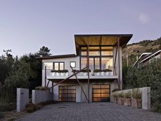 modern rustic house plans | Modern And Rustic Style Beach House By WA Design Picture-Interior ...