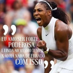 Recado da @serenawilliams para começar a semana com o pé direito. Porque não há absolutamente nada de errado em nos sentirmos lindas poderosas seguras e empoderadas né?  via GLAMOUR BRASIL MAGAZINE OFFICIAL INSTAGRAM - Celebrity  Fashion  Haute Couture  Advertising  Culture  Beauty  Editorial Photography  Magazine Covers  Supermodels  Runway Models