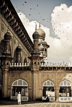 Mecca Masjid, Hyderabad, Andhra Pradesh, (INDIA) - patterns here