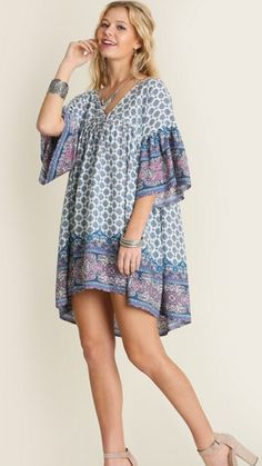 Love this printed tunic!! Will ship in two weeks!! Sizes: Small, Medium and Large! #khakicotton #printedtunic #love #spring | Shop this product here: spreesy.com/khakicottonfashions/239 | Shop all of our products at http://spreesy.com/khakicottonfashions    | Pinterest selling powered by Spreesy.com