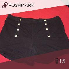 Black plus size sailor shorts Black plus size sailor shorts size 20 rue 21 Shorts Jean Shorts