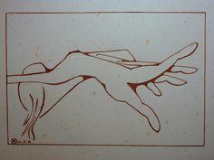 dancing hand (ink), AV