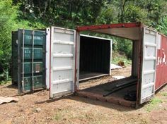 How to - Shipping Container Homes....all the info you need to convert a container