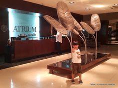 Felipe, o pequeno viajante: Hotel Atrium Gualok, em Presidencia Roque Sáenz Peña - um oásis no Chaco argentino
