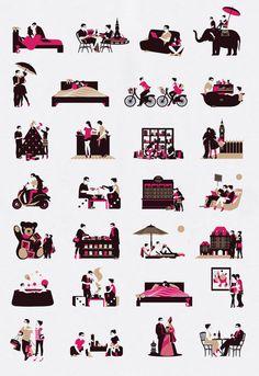 Illustrations by Malika Favre