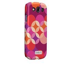 I want the #CaseMate Roundabout Red  by Cinda B  for Samsung Galaxy S3 Barely There Case from Case-Mate.com