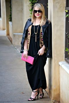 Envision Pretty in a Deb Shops #maxi dress